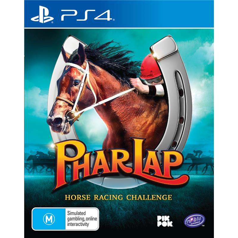 Tru Blu Entertainment Phar Lap Horse Racing Challenge PS4 Playstation 4 Game