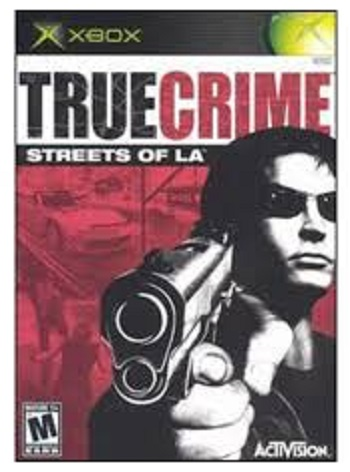 Activision True Crime Streets of LA Xbox Game