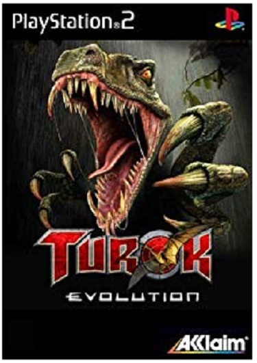 Acclaim Turok Evolution PS2 Playstation 2 Game