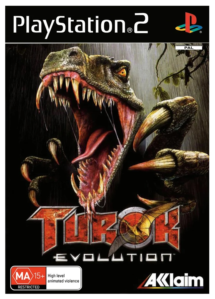 Acclaim Turok Evolution Refurbished PS2 Playstation 2 Game