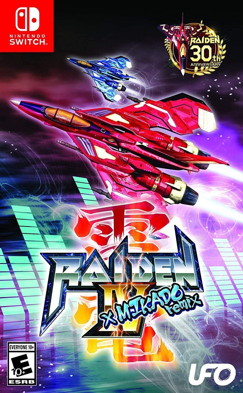 UFO Raiden IV X Mikado Remix Nintendo Switch Game