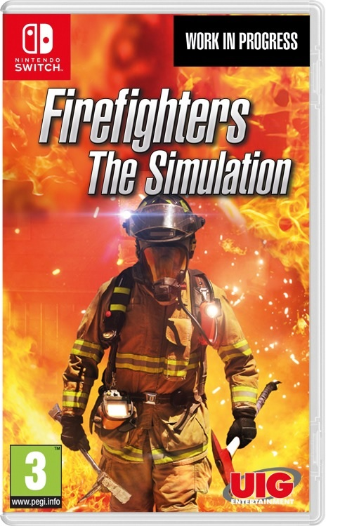 UIG Entertainment Firefighters The Simulation Xbox One Game