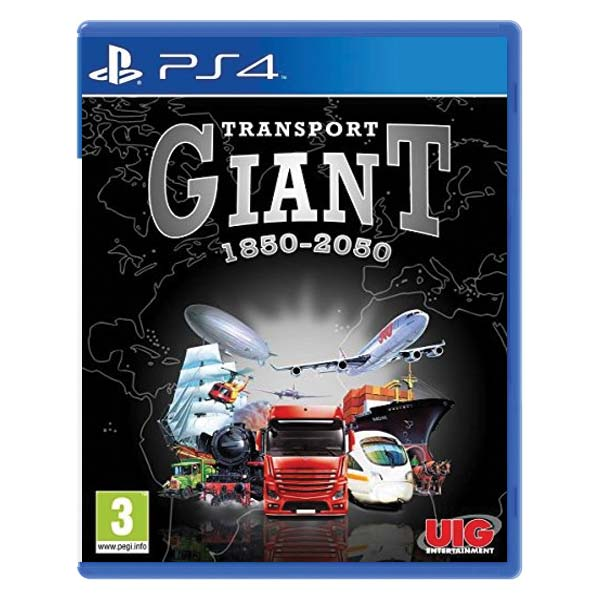 UIG Entertainment Transport Giant  PS4 Playstation 4 Game