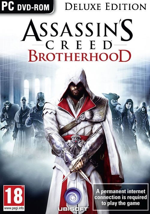 Ubisoft Assassins Creed Brotherhood Deluxe Edition PC Game