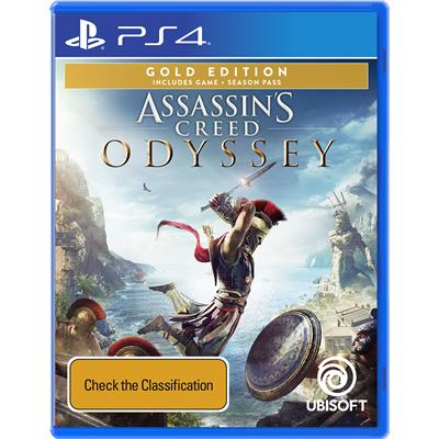 Ubisoft Assassins Creed Odyssey Gold Edition PS4 Playstation 4 Game