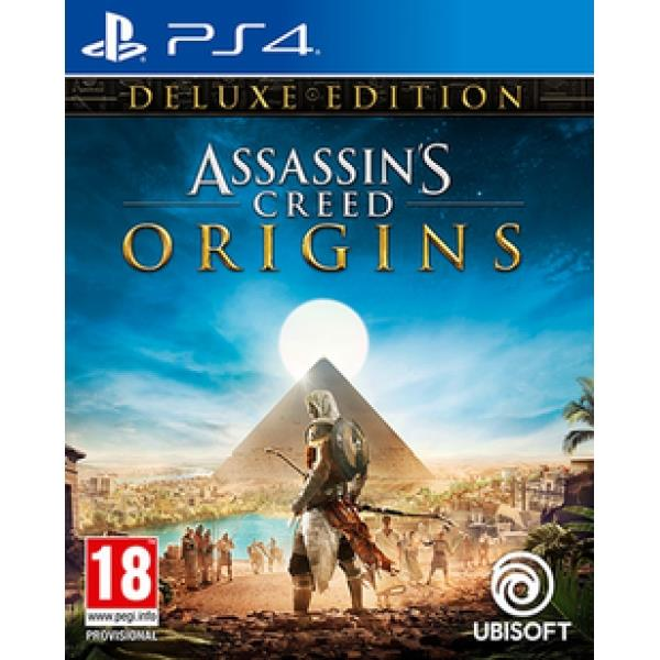Ubisoft Assassins Creed Origins Deluxe Edition PS4 Playstation 4 Game