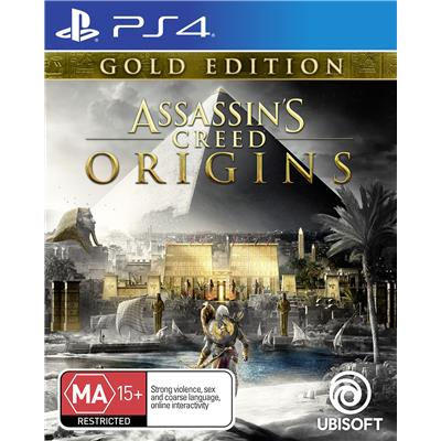 Ubisoft Assassins Creed Origins Gold Edition PS4 Playstation 4 Game