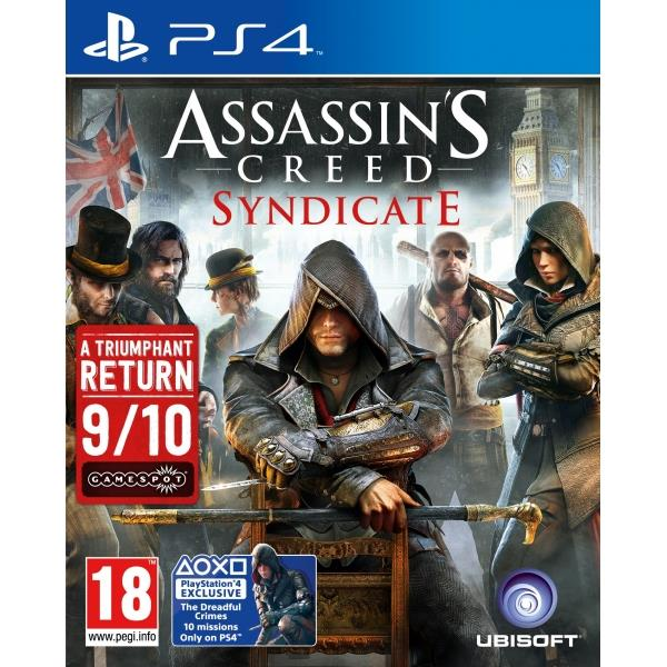 Ubisoft Assassins Creed Syndicate PS4 Playstation 4 Game