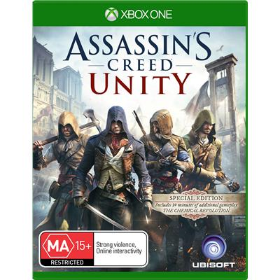 Ubisoft Assassins Creed Unity ANZ Special Edition Xbox One Game
