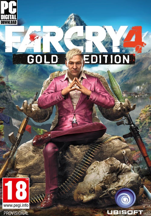 Ubisoft Far Cry 4 Gold Edition PC Game