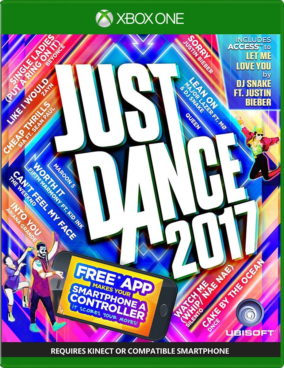 Ubisoft Just Dance 2017 Xbox One Game