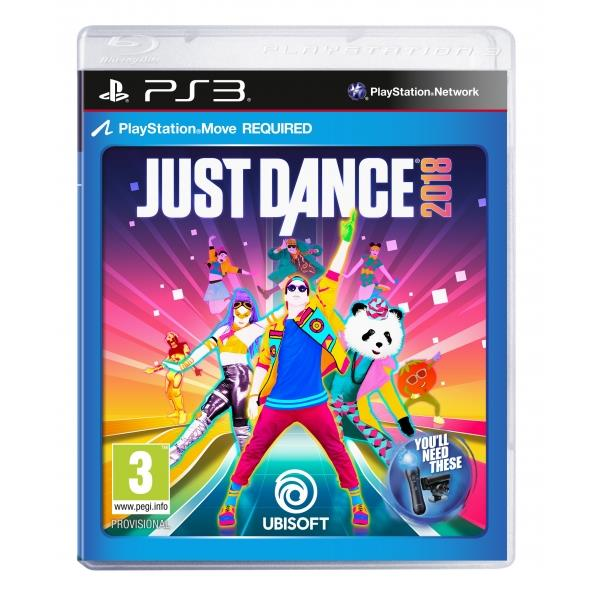 Ubisoft Just Dance 2018 PS3 Playstation 3 Game