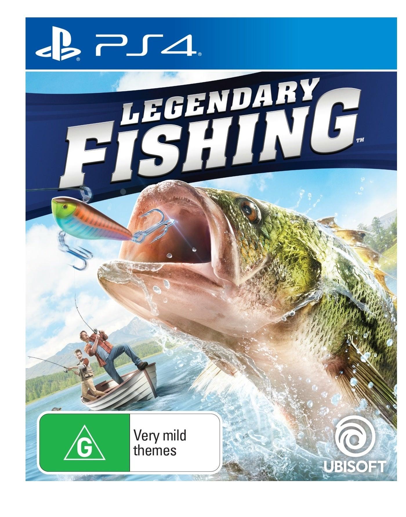 Ubisoft Legendary Fishing PS4 Playstation 4 Game