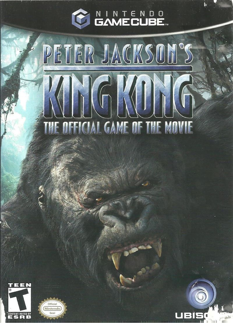 Ubisoft Peter Jacksons King Kong The Official Game Of The Movie GameCube Game
