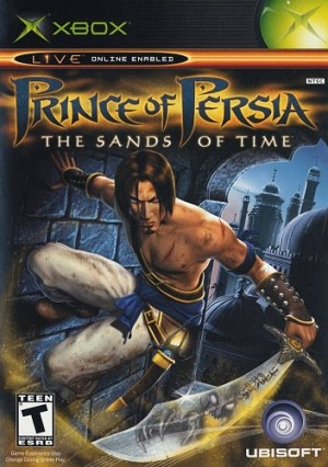 Ubisoft Prince Of Persia The Sands Of Time Xbox Game