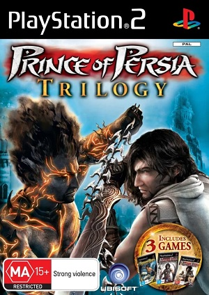 Ubisoft Prince Of Persia Trilogy PS2 Playstation 2 Game