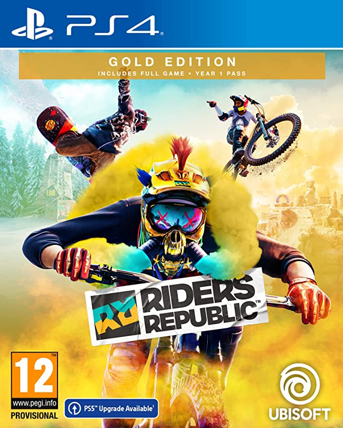 Ubisoft Riders Republic Gold Edition PS4 Playstation 4 Game
