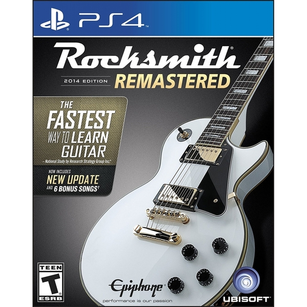 Ubisoft Rocksmith 2014 With Real Tone Cable PS4 Playstation 4 Game