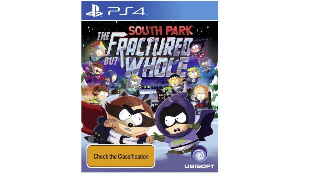 Ubisoft South Park The Fractured But Whole PS4 Playstation 4 Game