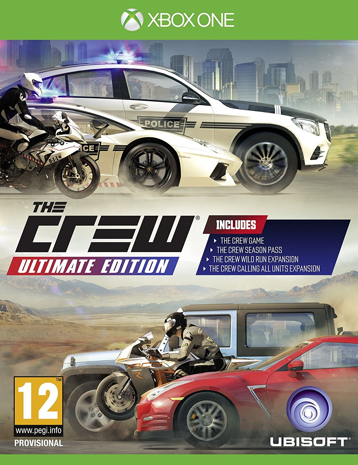 Ubisoft The Crew Ultimate Edition Xbox One Game