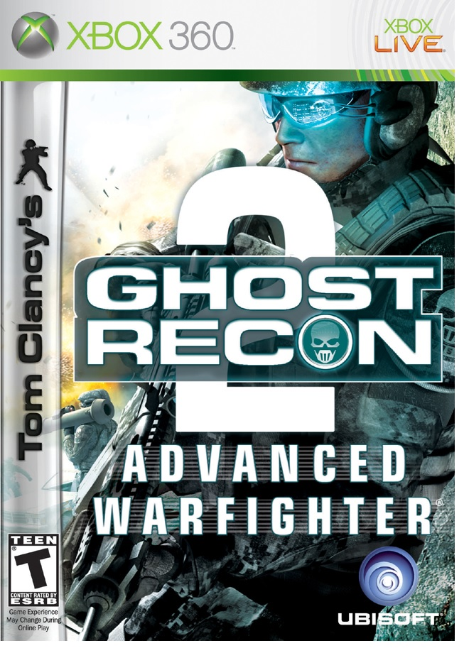 Ubisoft Tom Clancys Ghost Recon Advanced Warfighter 2 Xbox 360 Game