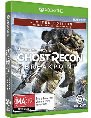 Ubisoft Tom Clancys Ghost Recon Breakpoint Limited Edition Xbox One Game