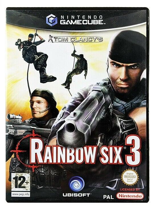 Ubisoft Tom Clancys Rainbow Six 3 GameCube Game