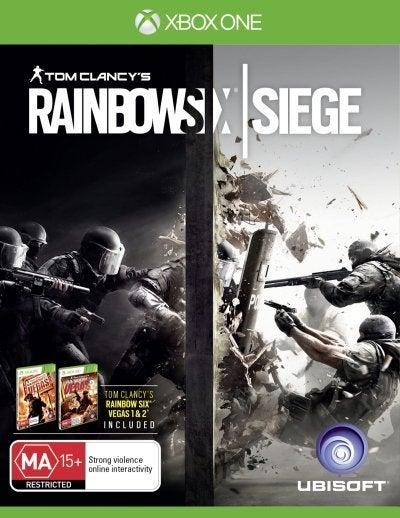 Ubisoft Tom Clancys Rainbow Six Siege Xbox One Game
