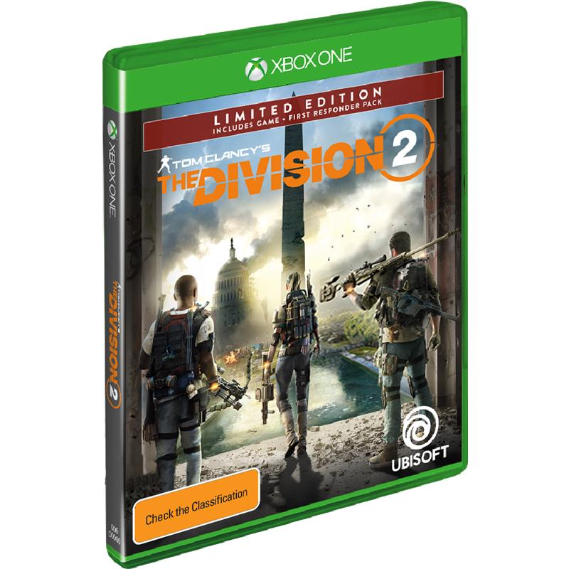 Ubisoft Tom Clancys The Division 2 Limited Edition Xbox One Game