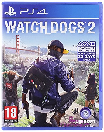 Ubisoft Watch Dogs 2 PS4 Playstation 4 Game