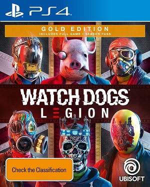 Ubisoft Watch Dogs Legion Gold Edition PS4 Playstation 4 Game