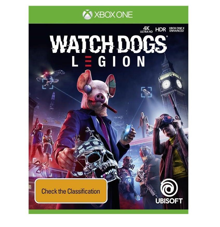 Ubisoft Watch Dogs Legion Xbox One Game
