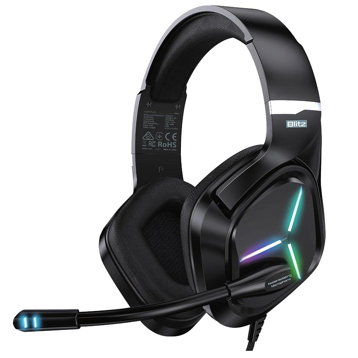 Vertux Blitz Gaming Headphones