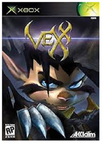 Acclaim Vexx Xbox Game