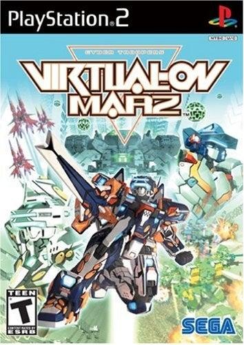 Sega Virtual On Marz PS2 Playstation 2 Game
