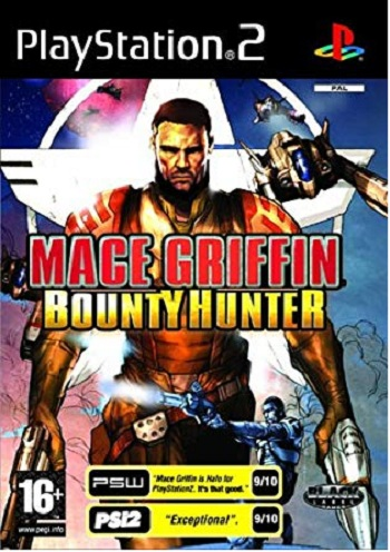 Vivendi Mace Griffin Bountry Hunter PS2 Playstation 2 Game