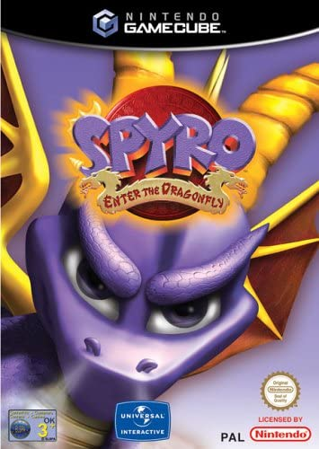 Vivendi Spyro Enter The Dragonfly GameCube Game