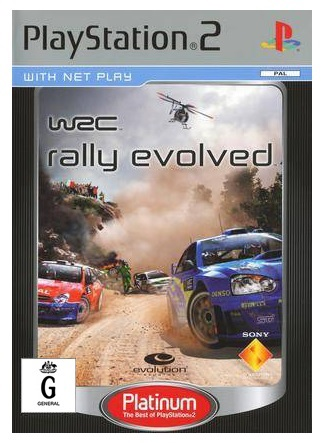 Sony WRC Rally Evolved Platinum Refurbished PS2 Playstation 2 Game