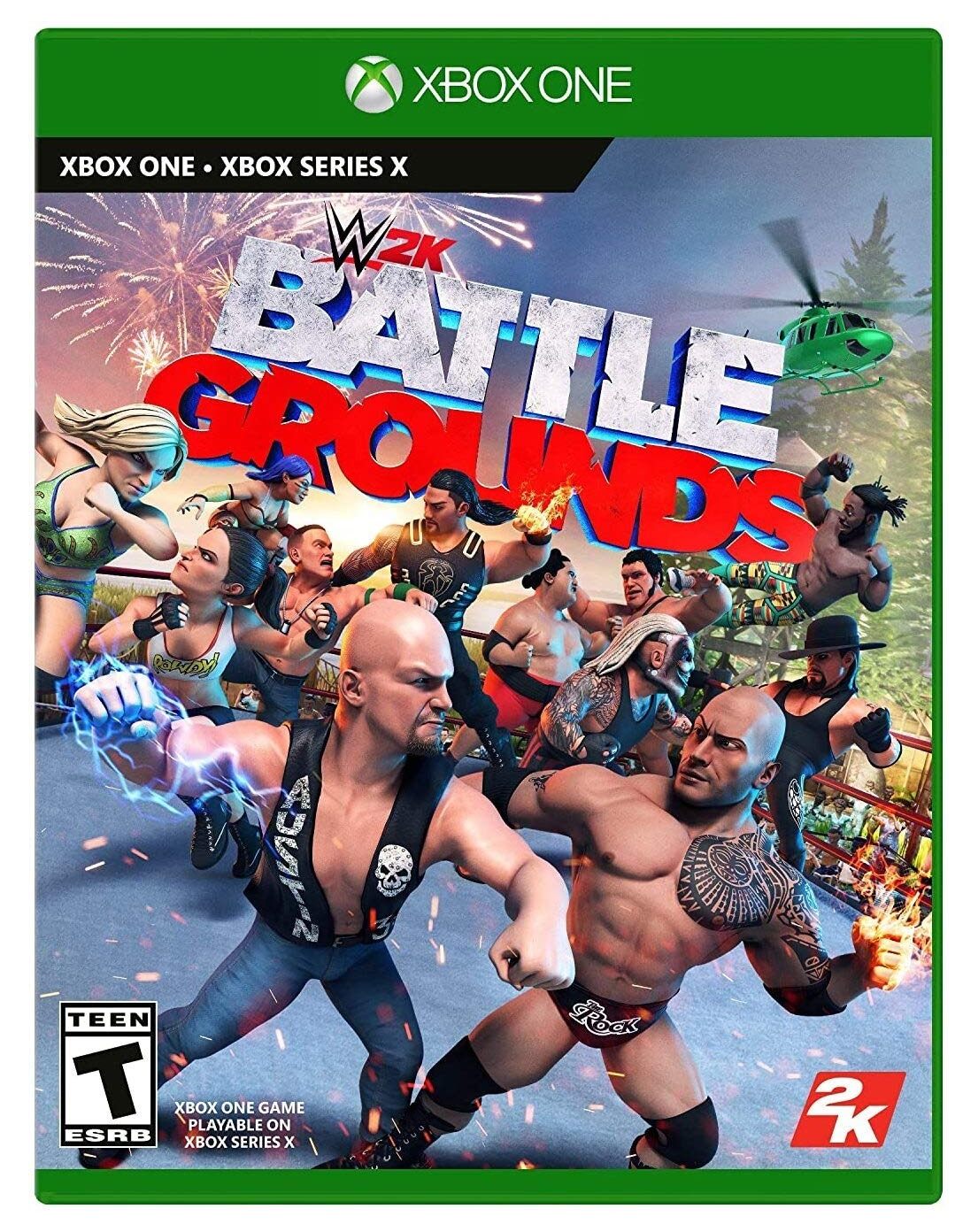 2k Games WWE 2K Battlegrounds Xbox Series X Game