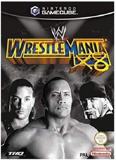 THQ WWE Wrestlemania X8 GameCube Game
