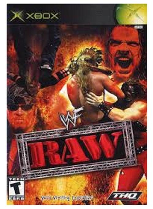 THQ WWF RAW Xbox Game