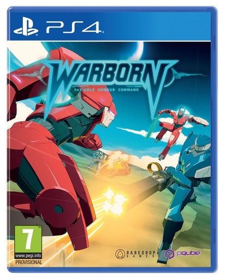 PQube Warborn PS4 Playstation 4 Game