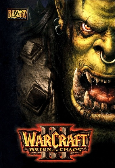 Blizzard Warcraft III Reign Of Chaos PC Game