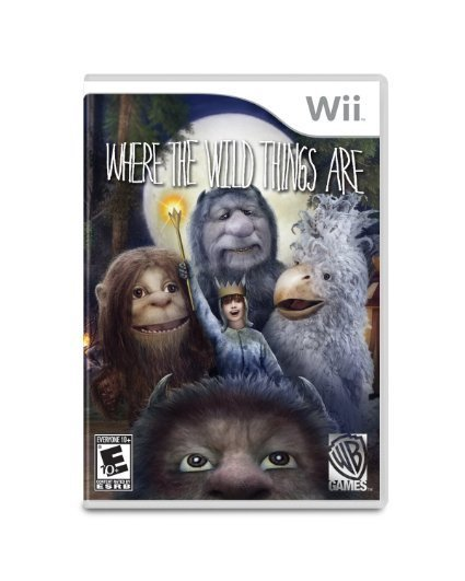 Warner Bros Where the Wild Things Are Nintendo Wii Game