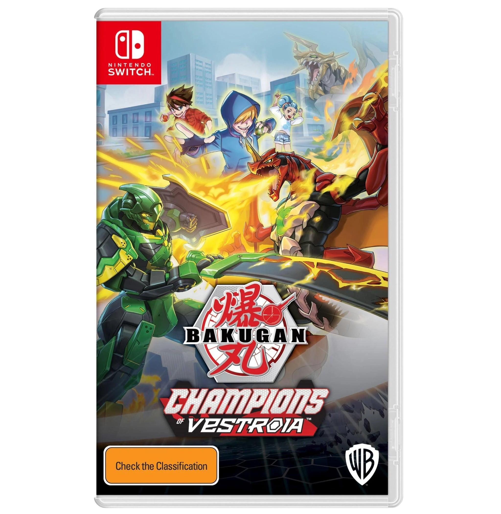 Warner Bros Bakugan Champions Of Vestroia Nintendo Switch Game