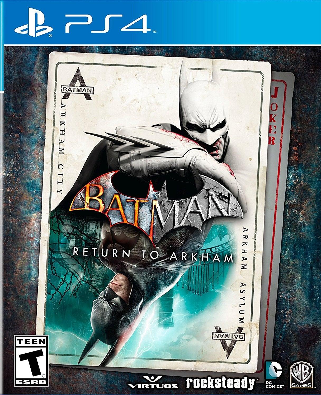 Warner Bros Batman Return to Arkham PS4 Playstation 4 Game