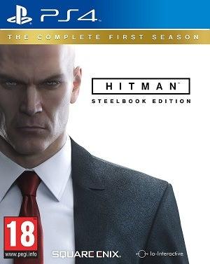 Warner Bros Hitman SteelBook Edition PS4 Playstation 4 Game