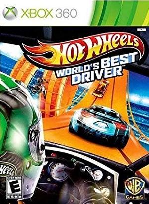 Warner Bros Hot Wheels Worlds Best Driver Xbox 360 Game