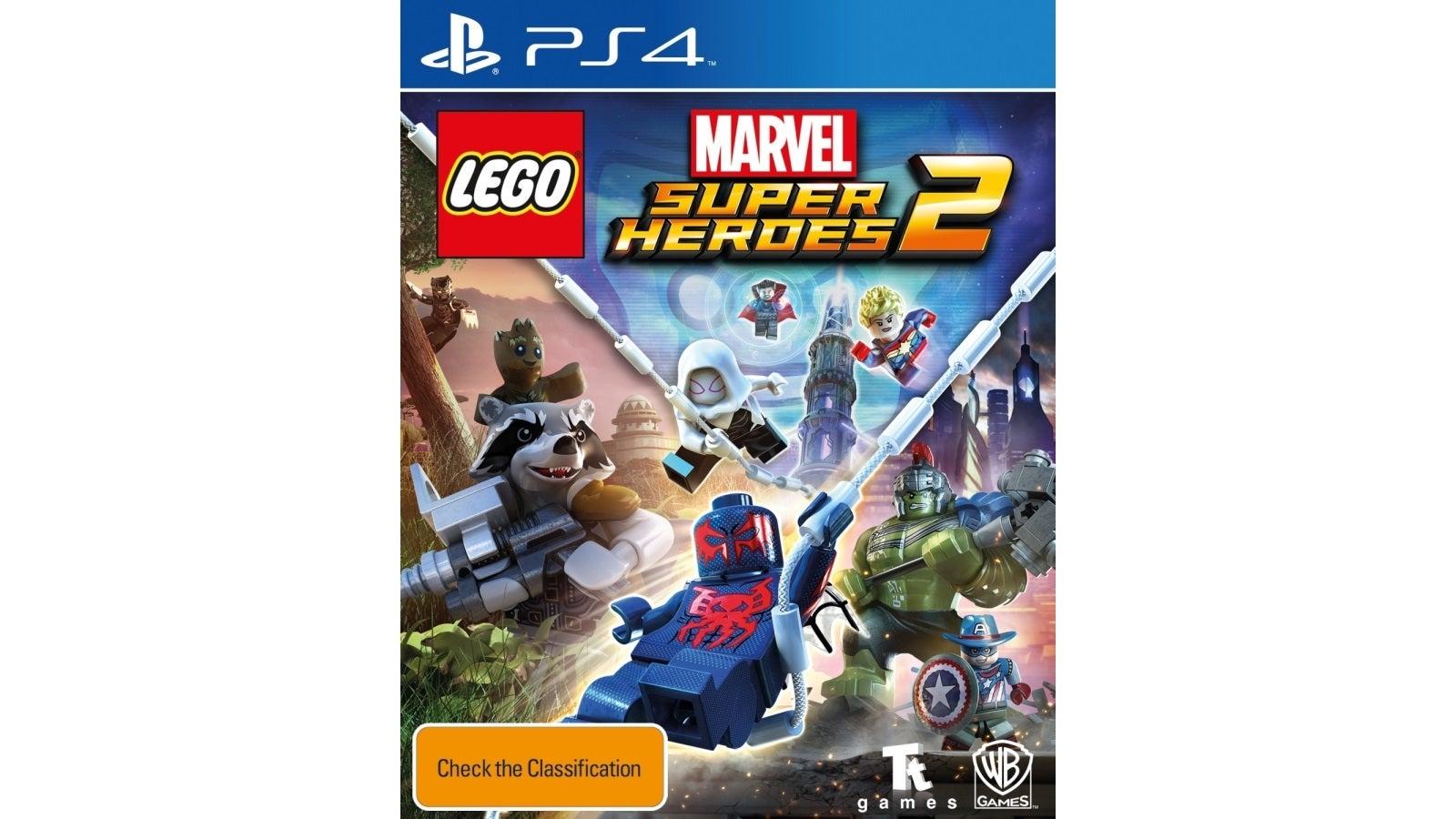 Warner Bros LEGO Marvel Super Heroes 2 PS4 Playstation 4 Game