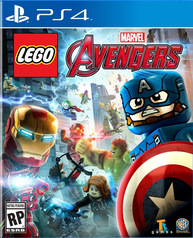 Warner Bros LEGO Marvels Avengers PS4 Playstation 4 Game